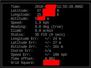 cgps screenshot